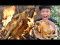 Download lagu Survival Skills - Yummy cooking big chicken and eating delicious Ep26