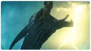 King Ghidorah Attack Scene - GODZILLA 2 King Of The Monsters (2019) Movie CLIP HD