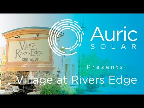 Village at Rivers Edge Commercial Solar Power System