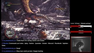 MHW - Solo Session #5 (Monster Hunter World - PS4)
