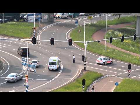 Spoedtransport vanuit #Krimpen richting ziekenhuis Rotterdam