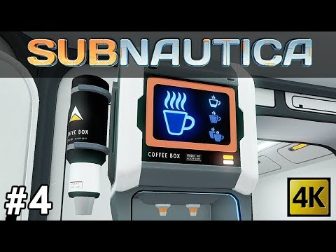 Subnautica | Wreck Dives, Coffee Vending Machine and Jelly Shroom Cave Discovery (Part 4) [4k]
