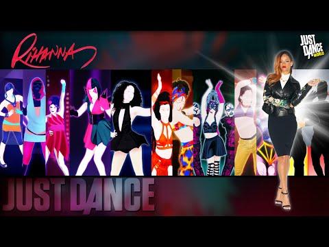 Just Dance | Rihanna | JD2 - JD2015 | History in Just Dance