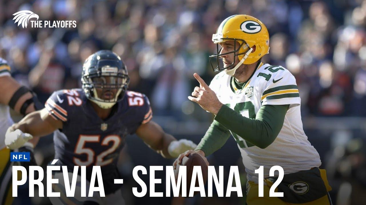 NFL: PRÉVIA DA SEMANA 12 (LIVECAST TP #7)