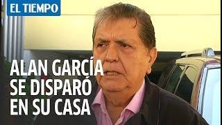 Expresidente de Perú Alan García se disparó