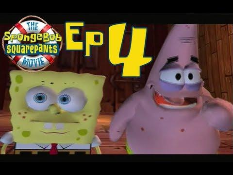 Let's Play The Spongebob Squarepants Movie, ep 4: Extreme bathing