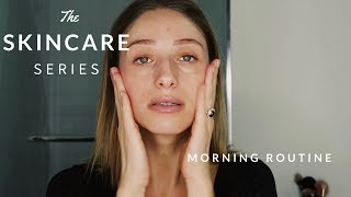 MORNING SKINCARE ROUTINE | HOW I CLEARED UP MY ACNE