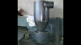 Идея для бизнеса в гараже (циклон пылеуловитель)(Изготовление металлоизделий под заказ Сайт http://master-metal.com.ua/ 0961381551., 2016-10-28T18:04:13.000Z)