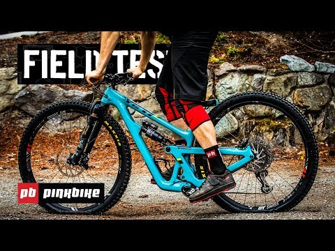 12 Bikes Hucked to Flat in Slow Motion | 2018 Pinkbike Field Test