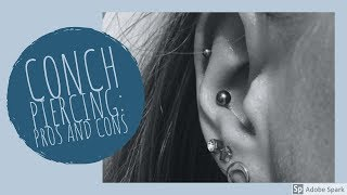 Pros and Cons of Conch Piercings