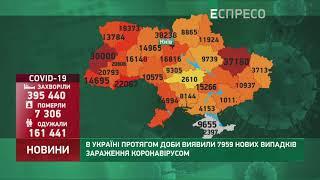 Коронавірус в Украі ні статистика за 1 листопада