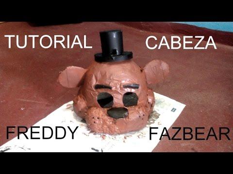 Cómo hacer la máscara de Freddy Fazbear - FNaF (Resubido)