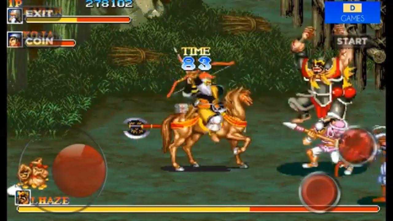 Warriors of Fate Round 2 Xiahou Dun Boss Huang Zhong ...