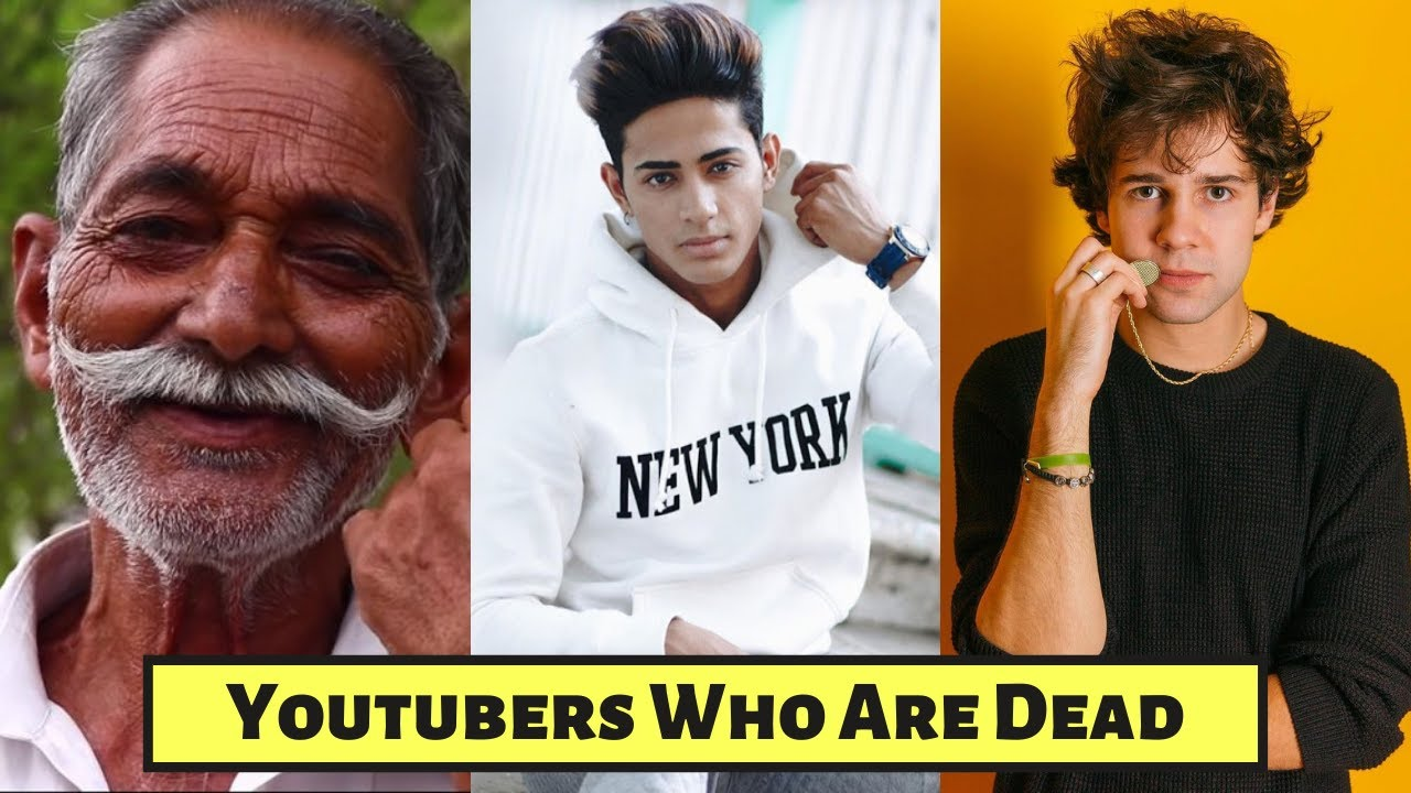 New List Of Top 10 Famous Youtubers who died Early