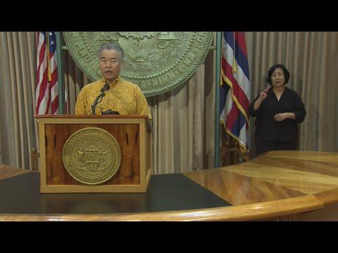 FULL: Hawaii Gov. Reinstates Inter-island Quarantine Order, Honolulu Tightens Up Restrictions