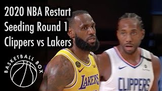 [NBA Restart] Los Angeles Clippers vs Los Angeles Lakers, Full Game Highlights, July 30, 2020