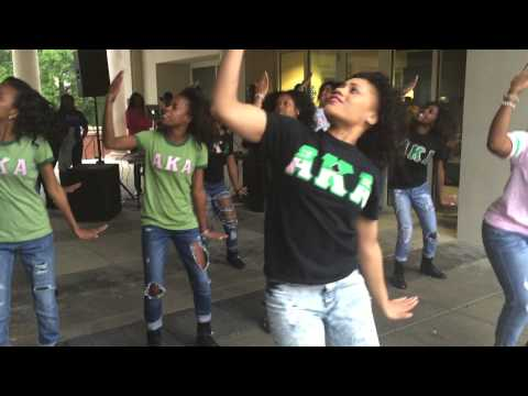 The Nu Rho Chapter of Alpha Kappa Alpha Sorority inc. Spring 2015 UNCG