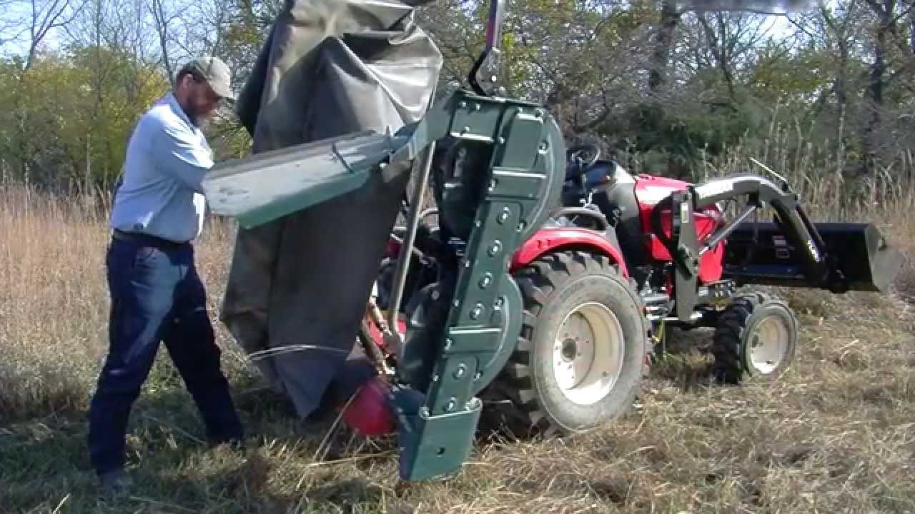 Small-Scale Hay Mowing for the Homestead