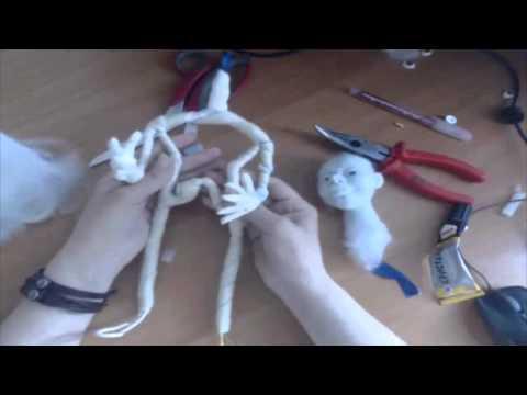 Анонс фото видео курса по созданию авторской куклы .