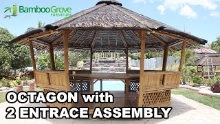 Bamboo Grove Furniture - Octagon with 2 Entrances