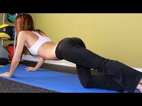 Bubble butt workout for women