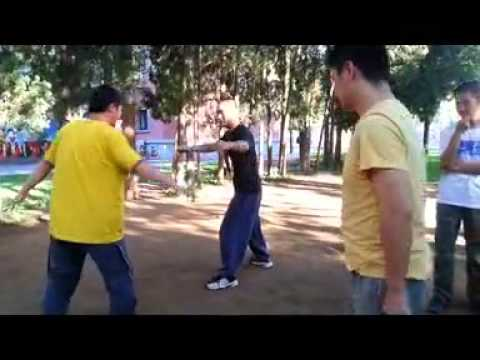 Beijing Baji Quan club : fight applications #3