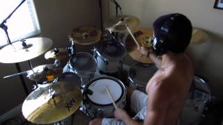 Undefeated by Blessthefall: Drum Cover by Joeym71