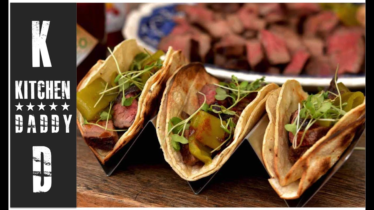 Superior Grilled Tri Tip Tacos, Anaheim Chilis | Kitchen Daddy