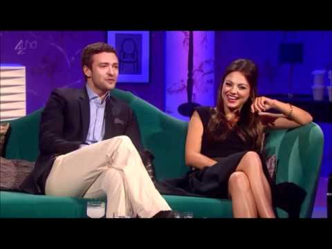 The Chatty Man Show: Justin Timberlake & Mila Kunis