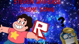 Easy Roblox Piano Steven Universe Theme Song Computer Keyboard