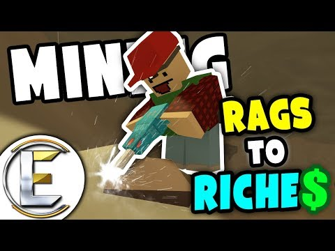 MINING RP   Unturned Rags to Riches - Moving into a new home and growing berries (Roleplay) #3