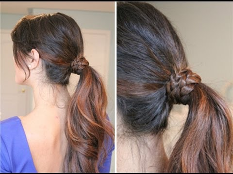 Braided Wrap Around Ponytail Luxy Hair