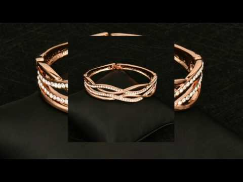 Zircon Hollow Women Bangle Bracelets-GET DISCOUNT COUPON