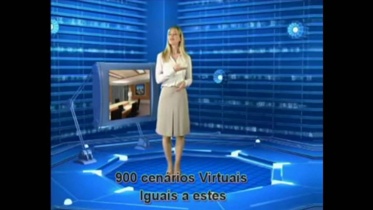 cenario virtual chroma key