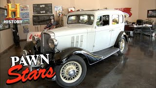 Pawn Stars: RICK TAKES A RISK on 1933 Chevy Eagle (Season 8) | History