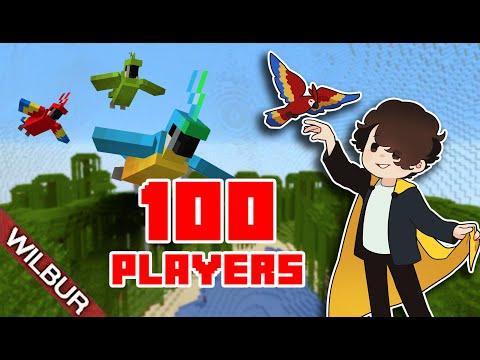 Minecraft 100 Player Bird Cage