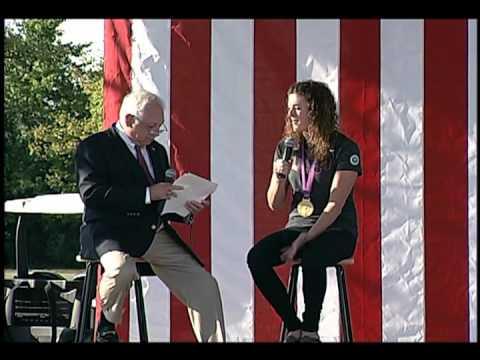 Canton, Michigan Community Celebration for Olympic Gold Medalist Allison Schmitt