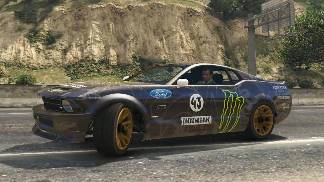 GTA V - Hoonigan Ford Mustang - YouTube