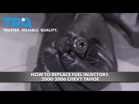 How to Replace Fuel Injectors 2000-06 Chevy Tahoe