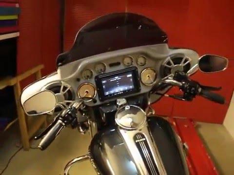 Maxomation Motorparts  DoubleDINFairing FLH 19962013