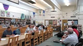 Video of Granada Hills South Neighborhood Council Special Meeting September 24, 2015