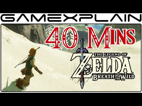 40 Minutes of Zelda: Breath of the Wild (DIRECT FEED E3 Gameplay)