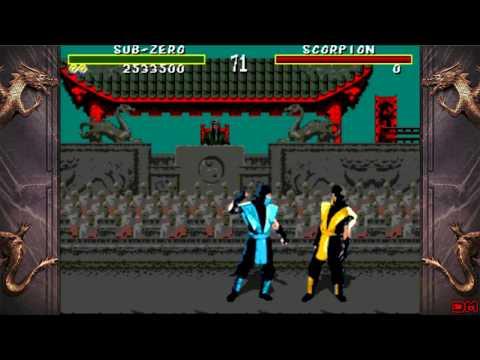Mortal Kombat All Fatalities & CENSORED Fatalities Genesis