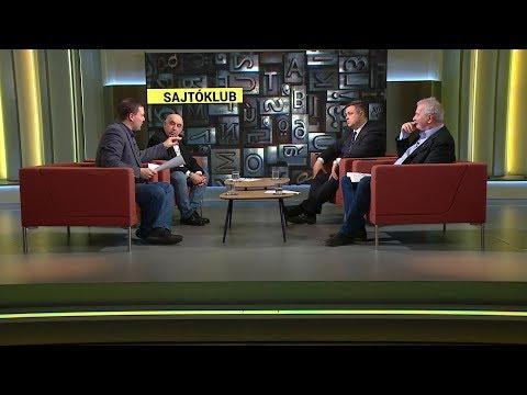 Sajtóklub 2019-02-11 - ECHO TV