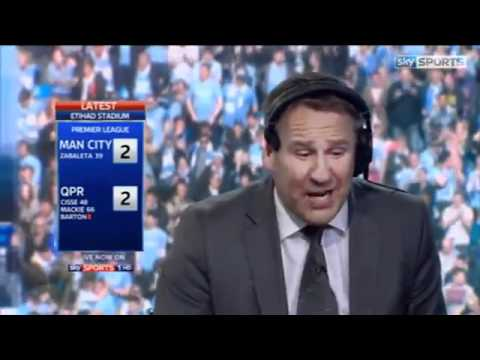 Paul Merson Reaction To Manchester City Winning The League 2012.