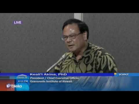 Grassroot Institute Testimony on Honolulu Rail | Keli