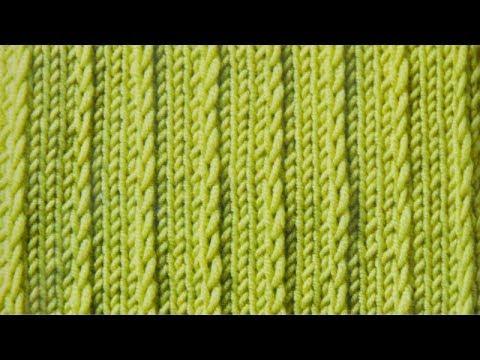 Stricken Mit Elizzza Optische Rippen Mit Hebemaschen Youtube