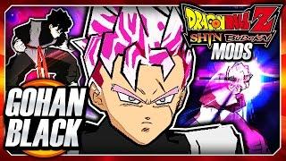 Dragon Ball Z Shin Budokai 2 Mod: Future Gohan Black SSJ Rose Transformation DLC Pack Mod Gameplay