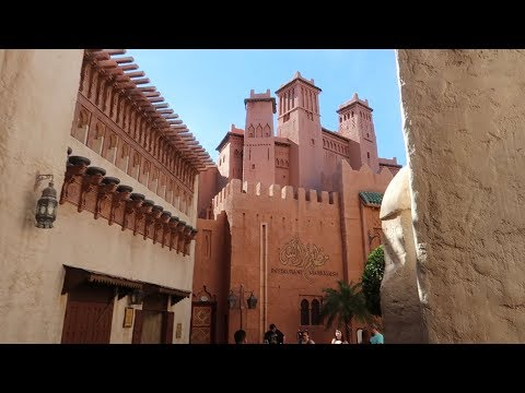Adventures Around The World Showcase! Let's Take A Closer Look At The Morocco Pavilion!