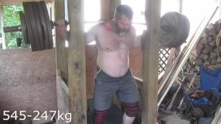 Video Bench Doubles 440 3x2 & Squat 545x5 download MP3, 3GP, MP4, WEBM, AVI, FLV April 2018